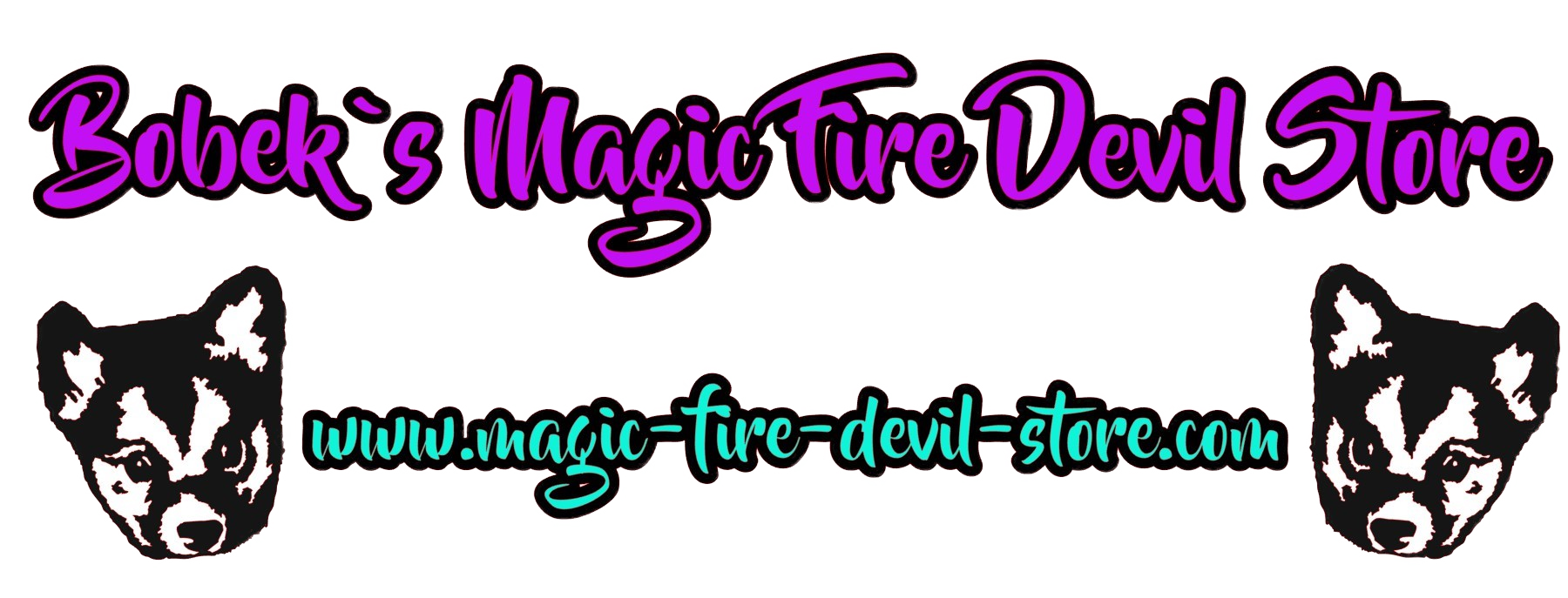 Bobek´s Magic Fire Devil Store-Logo
